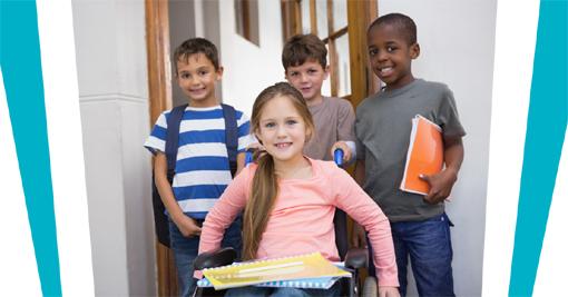 Accueil d'une petite fille handicapée en milieu scolaire ordinaire