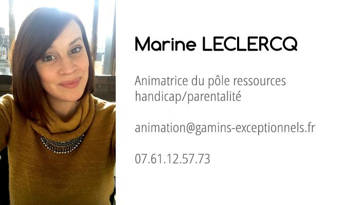 coordonnées de Marine Leclercq